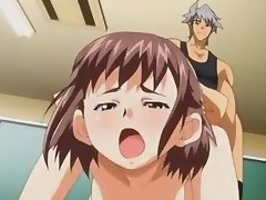 Hentai schoolgirls gets their pussies pumped deep, and not a place is safe