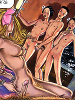 Filthy adult comics that go far beyond borders