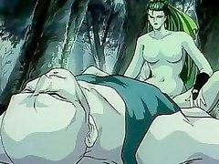 Mistress enjoys slave's rod!