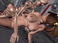Chick drills terminator in 3D hentai - 3dhentaivideo.com
