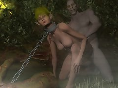 elves fucked by monster goblins