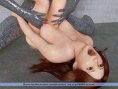 group monster sex 3d