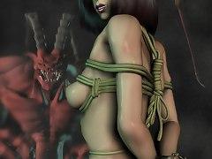 uncensored monster sex