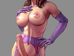 Naked shemale hentai cock tsunami