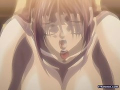 Hentai girl with big tits and ass gets fucked