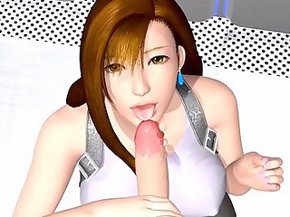 Bosomy girl shows holes in hot hentai - 3dhentaivideo.com
